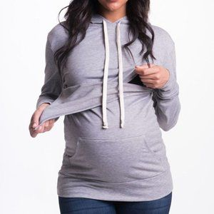 Bun Maternity nursing hoodie